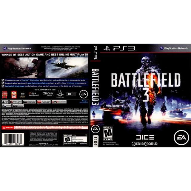 【中古】[PS3]Battlefield 3(バトルフィールド 3)(北米版)(BLUS-30762)(20111125)