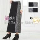 大きいサイズ レディース スカート | ボタン付き ロング丈