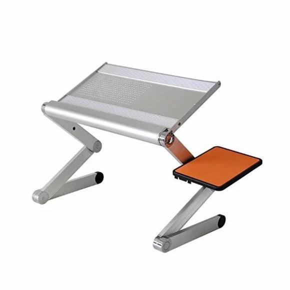 POWSEED 多機能 ラップトップ テーブル ノートPC ノートパソコン 台 机 スタンド ベッドでもソファでも