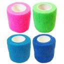 ペット用包帯 テーピングテープ 自着性テープ 伸縮性 通気性 応急処置 包帯
