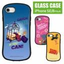 トムアンドジェリー ハイブリッドケース iPhone8 iPhone7 iPhone SE 2020 ガラスケース スマホ……