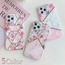 花×大理石 iPhone12 ケース iPhone 12 Pro iPhone12 mini iPhone11 ケース かわいい iPhone SE……