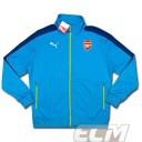 【予約ECM32】アーセナル アンセムジャケット ブルー【14-15/Arsenal/サッカー/プレミアリーグ/トレーニングウェア】330
