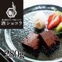 「Lien」焼生ショコラ×溝上酒造【天心】酒ショコラ レギュラー(280g)