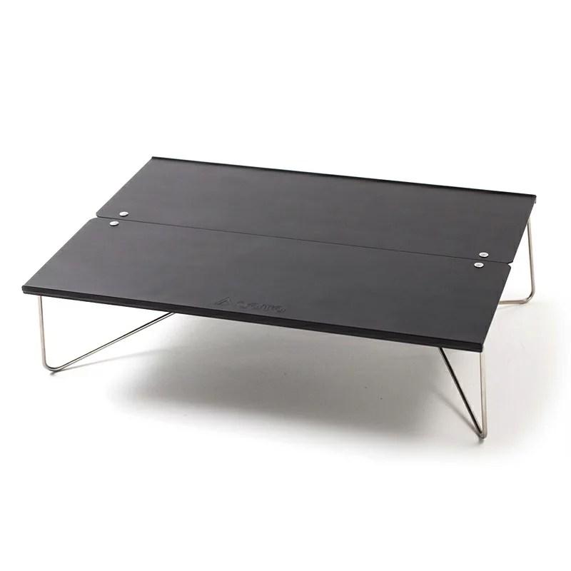 SOTO ポップアップソロテーブル フィールドホッパー【ナチュラム別注カラー】 マットブラック ST-N630