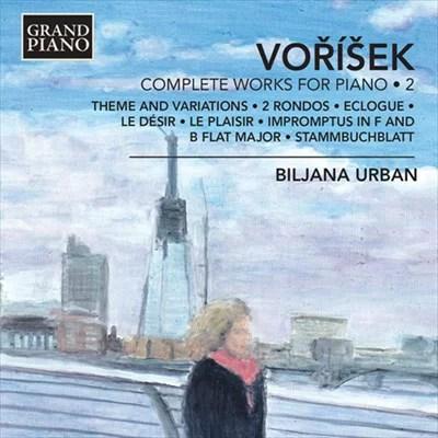 ヤン・ヴァーツラフ・フーゴ・ヴォジーシェク:ピアノ作品全集 第2集