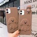 アイフォン ケース iphone12 5.4 iphone12 6.1 iphone11 犬 韓国 可愛い