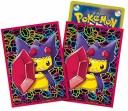 ポケモンセンターオリジナル ポケモンカードゲーム デッキシールド メガヤミラミのポンチョを着たピカチュウ 32枚入り×2セット