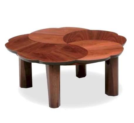 こたつ テーブル 幅90cm こたつテーブル コタツ 花形 桜 折りたたみ ウォ
