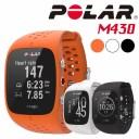【POLAR】スマートウォッチ ランニングウォッチ 選べる3カラー 2サイズ M430-BK M430-WH M430-OR ブラック ホワイト オレンジ