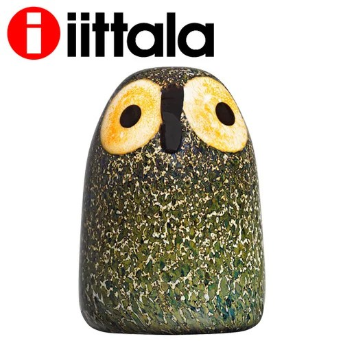 iittala イッタラ Birds by Toikka バード メンフクロウ ヒナ リトル バーン オウル 45×65mm Little Barn O...