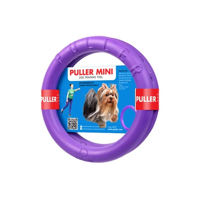 PULLER MINI プラーミニ☆ヨーロッパ&アメリカで大人気!!プラーはドーナッツ型のドッグトレーニング玩具...