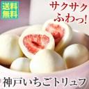 神戸いちごトリュフ(白)■送料無料■ 神戸から苺ミルクの懐かしい味をお届け ホワイトデー