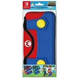 [2017年10?11月発売予約][ニンテンドースイッチ 周辺機器] クイックポーチコレクション for Nintendo Switch スーパーマリオ タイプA [CQP-002-1]