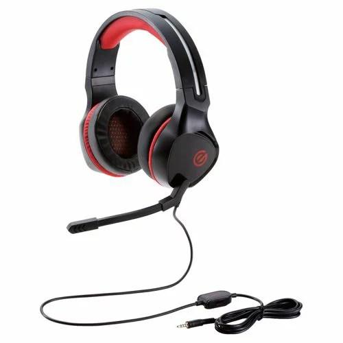 【新品/取寄品】ゲーミングヘッドセット/両耳オーバーヘッド/4極ミニプラグ/50mmドライバ/極厚イヤーパッド/コントローラ付属/ブラック HS-G01BK
