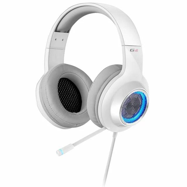 【新品/取寄品/代引不可】Edifier ゲーミングヘッドセット G4 (ホワイト) ED-G4WH