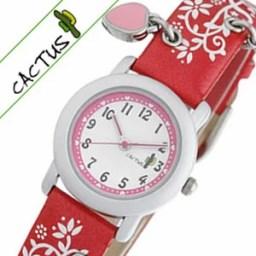 【小学生のお子様にはこれ】カクタス 時計 CACTUS 時計