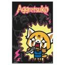 AGGRETSUKO アグレッシブ烈子 Rock Out / ポスター 【公式 / オフィシャル】