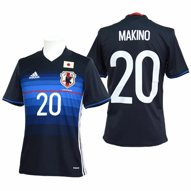 adidas サッカー 日本代表 【槙野智章】ホーム レプリカユニフォーム半袖【adidas】アディダス● japan-home(AAN09MAKINO-20)*43