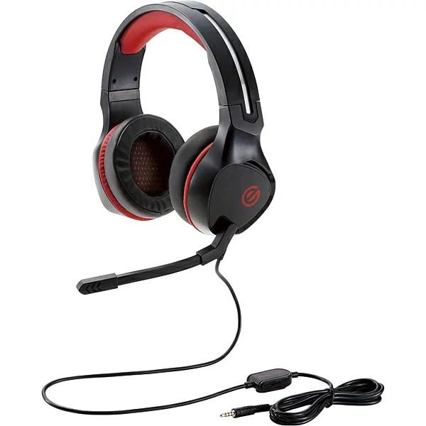 【送料無料】ELECOM HS-G01BK ゲーミングヘッドセット/ 両耳オーバーヘッド/ 4極ミニプラグ/ 50mmドライバ/ 極厚イヤーパッド/ コントローラ付属/ ブラック【在庫目安:お取り寄せ】| パソコン周辺機器 ヘッドセット ゲーミング ゲーム パソコン マイク PC 通話