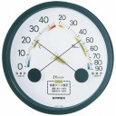 EMPEX 温度・湿度計 エスパス 温度・湿度計 壁掛用 TM-2332 ブラック【ポイント10倍】