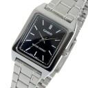カシオ CASIO クオーツ レディース 腕時計 時計 LTP-V007D-1E ブラック【ポイント10倍】【楽ギフ_包装】