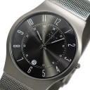 スカーゲン SKAGEN 腕時計 ウルトラスリム チタン 233XLTTM【送料無料】