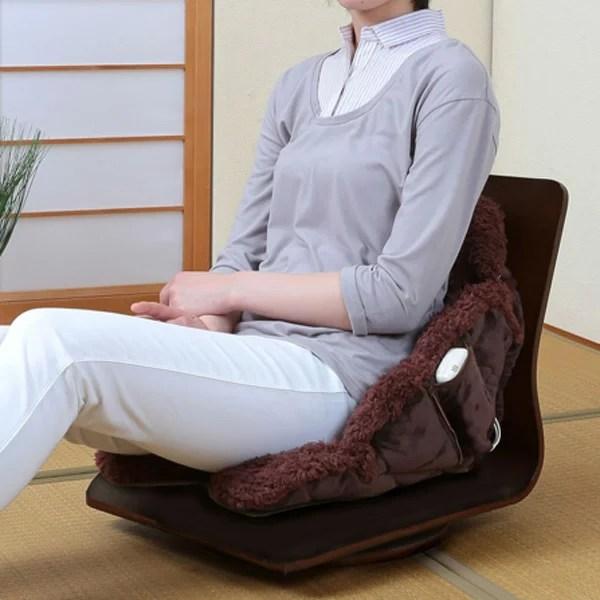あったかクッション 電気クッション 座れる毛布 座布団 冷え対策(代引不可)【送料無料】【int_d11】