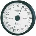 EMPEX 温度・湿度計 エクストラ 温度・湿度計 壁掛用 TM-6202 ブラック