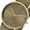 アリーデノヴォ ALLY DENOVO 腕時計 時計 レディース 36mm AF5009-3 HERITAGE クォーツ グレーカーキ