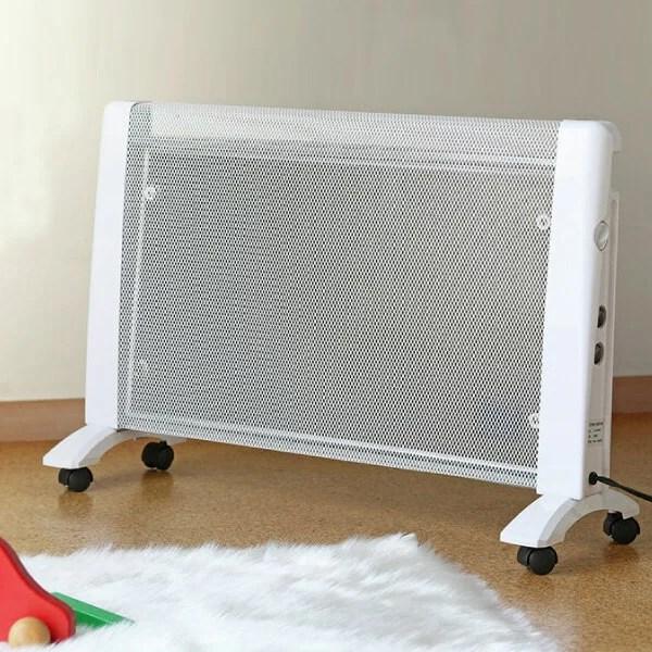 パネルヒーター 省エネ 遠赤外線 パネルヒーター RLC-MH1000 暖房器具 静音 軽量 パネル