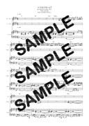【ダウンロード楽譜】 マスカラまつげ/DREAMS COME TRUE(ピアノ弾き語り譜 中級1)