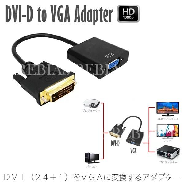 2017年DVI-DはVGAに変換できる?...