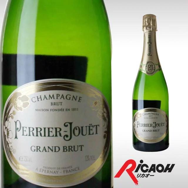 ペリエ・ジュエ グラン ブリュット750ml 【 シャンパン