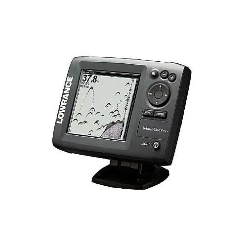 LOWRANCE/ローランス Mark-5Xpro 5インチ 2周波デジタル魚探(モノクロ16階調)