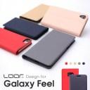 LOOF SKIN Slim Galaxy A52 5G A32 A51 A21 A7 A41 ケース A20 A30 Feel2 Feel カバー 手帳型 SCG07 SC-41A SCV48 SC-42A SM-A750C ス..