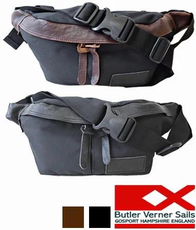 ボディバッグ 日本製 撥水 コーデュラナイロン×本革 ショルダーバッグ サコッシュバッグ / バトラ