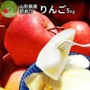りんご 訳あり 5kg サンふじ 山形県産 産地直送りんご お徳用りんご 林檎 ジャムにもOKなりんご りんごジュースにもOK! 家庭用りんご! フルーツ 送料無料 健康 食べ物 果物 アップル