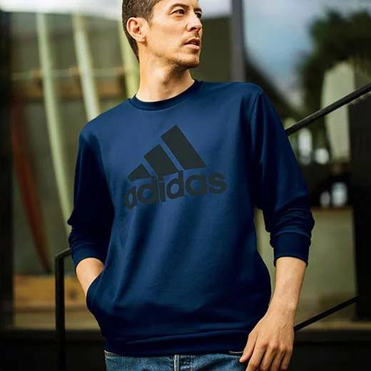 <adidas>クルーネックスウェット ryuryu/リュリュ ラナン Ranan 30代 40代