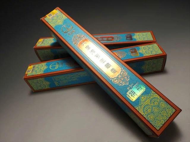 超高級 チベット族秘伝【六度波羅蜜藏香【持戒(じかい)】】たっぷり1箱約150本