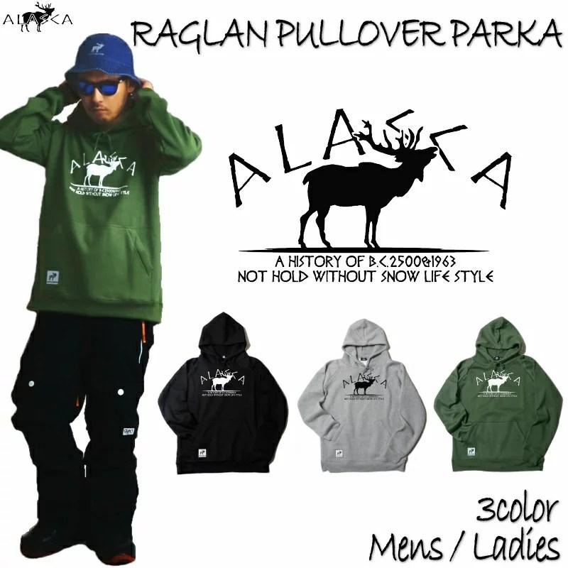 ALASCA パーカー スノーボード R