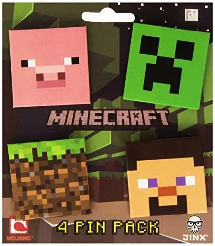 【送料無料】【Minecraft(マインクラフト) Pin Pack バッジ セット】 b008ayjkyk