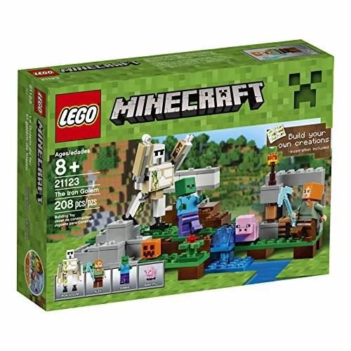 【送料無料】【輸入レゴマインクラフト LEGO Minecraft The Iron Golem 21123 [並行輸入品]】 b01aw1qyem