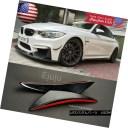 エアロパーツ 2 Pcs Flexible Curve Bumper Splitter Fin Spoiler Canard Diffuser for Honda Acura ホンダアキュラの2つのPCのフレキ..