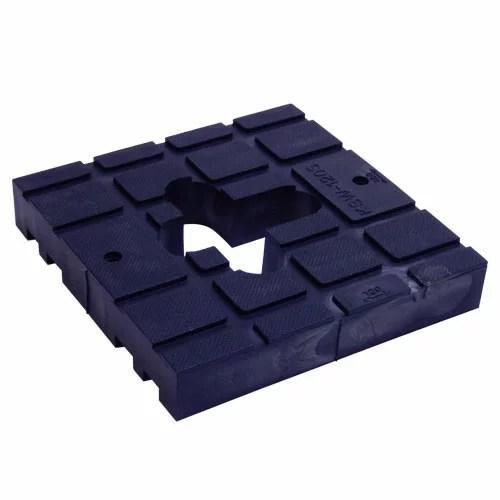 吉川化成 キソスペーサー(基礎パッキン) 幅120mm ウエイトタイプ(本体) KSW-120S(W120×L100×H20) 1箱(30個入)