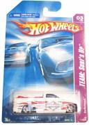 ホットウィール マテル ミニカー ホットウイール Hot Wheels 2008 119 Team: Surf's Up # 3 of 4 White Switchback Pickup Truck 1:64 ..