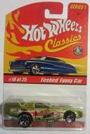 ホットウィール マテル ミニカー ホットウイール Firebird Funny Car Hot Wheels Classics Series 1 - Antifreeze 18 of 25ホットウィ..