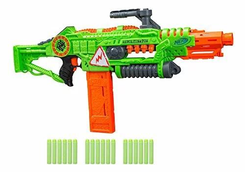 ナーフ FORTNITE アメリカ 直輸入 ダーツ 【送料無料】NERF Revoltinator Zombie Strike Toy Blaster with Motorized Lights Sounds & 18 Official Darts for Kids, Teens, & Adultsナーフ FORTNITE アメリカ 直輸入 ダーツ