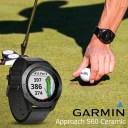 【1年保証付き】【国内正規品】 ガーミン GARMIN Approach S60 ceramic ゴルフナビ 腕時計 アプローチ エス60 セラミック ブラック ゴ..