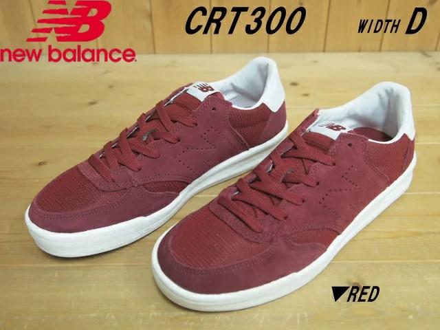 期日限定価格!(10/31日20:00まで)♪New Balance CRT300 FC(RED)W
